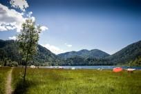 Drei Seengebiet lädt zum Baden ein