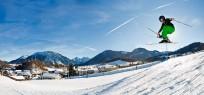 Skifahren am Westernberg